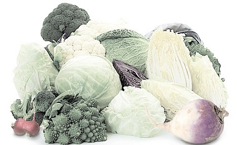 cruciferous vegetables are high in smelly sulfur compounds