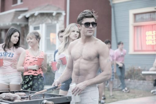 zac efron has said he ate seafood before a kissing scene and got called out for it